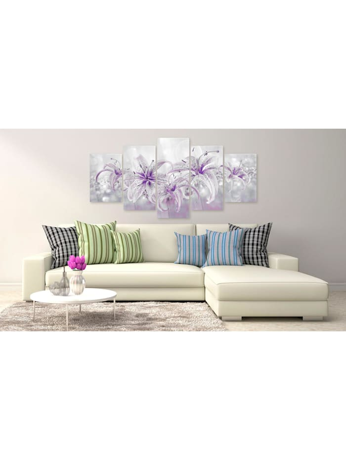 Acrylglasbild Purple Graces [Glass]