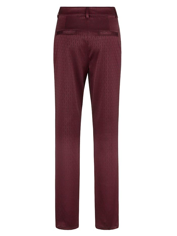 Pantalon à imprimé graphique devant et dos
