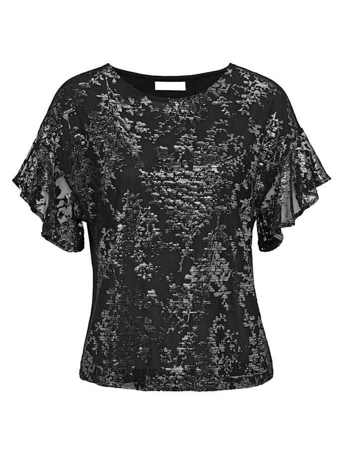 SIENNA T-Shirt, Schwarz