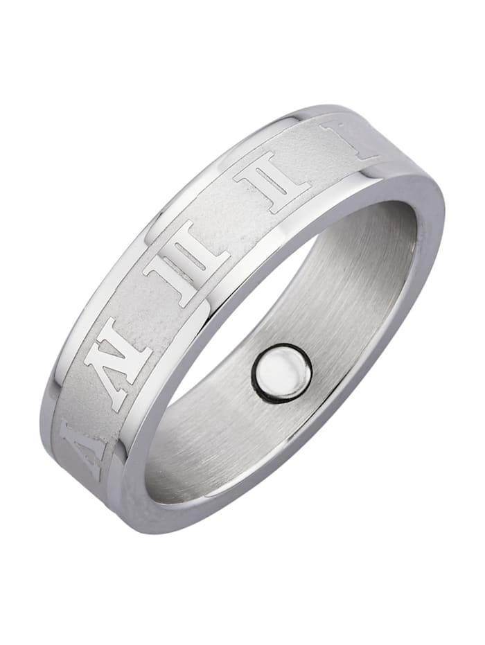 Magnetic Balance Naisten sormus, Hopeanvärinen