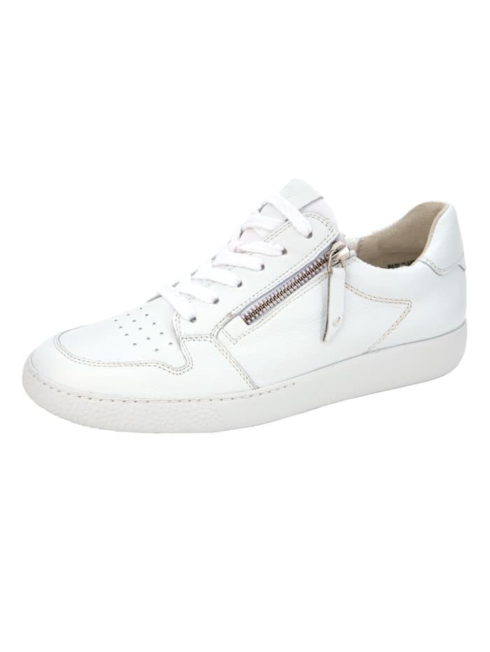 Paul Green Sneakers à plateau à technologie SUPER-Soft, Blanc
