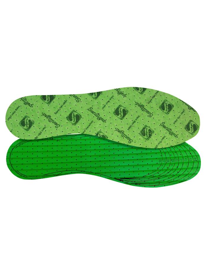 FußGut Vložky do obuvi s vysokým komfortom nosenia, Zelená