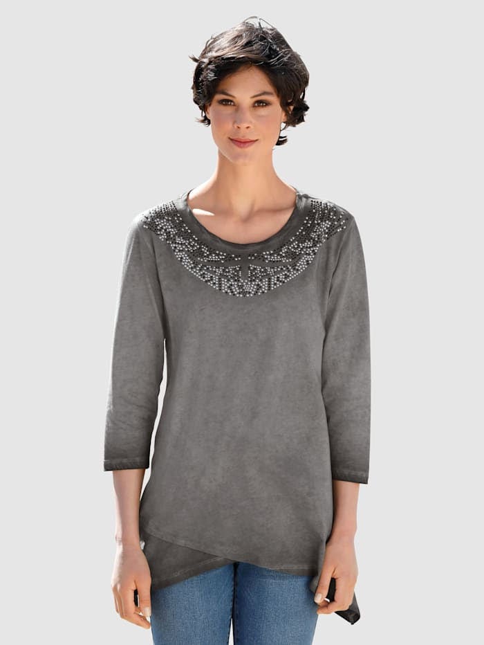 Dress In T-shirt de coupe longue, Anthracite