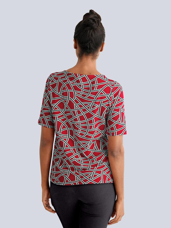 Shirt im grafischem Druck