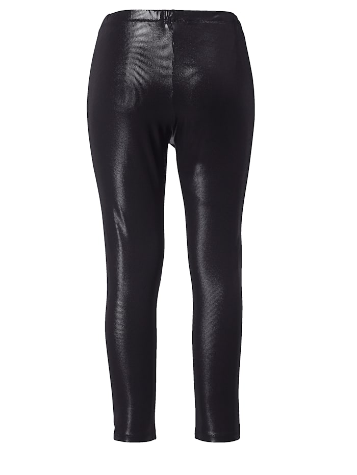 Leggings in Lederimitat