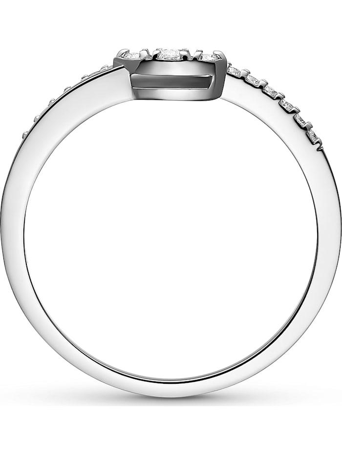 CHRIST Damen-Damenring 21 Diamant
