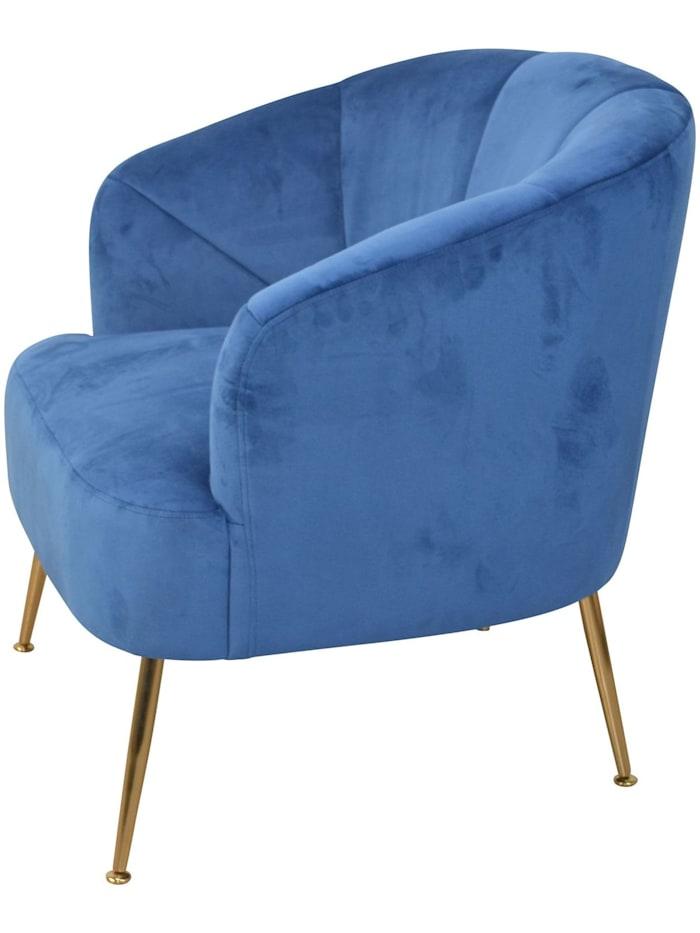Möbel-Direkt-Online Polstersessel Silvia, blau