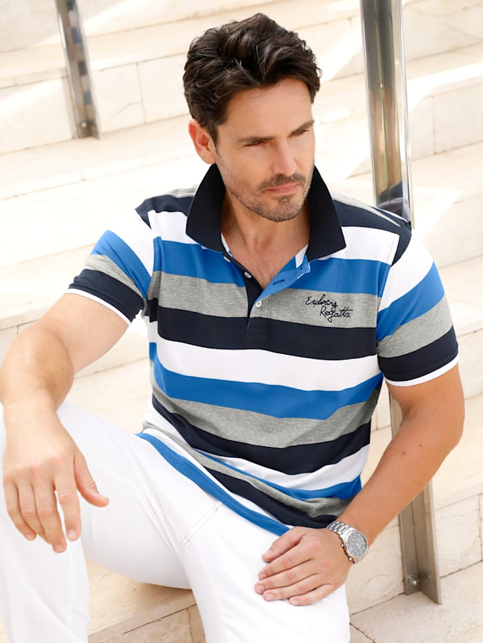 Doppelpack T-Shirt und Poloshirt aus reiner Baumwolle