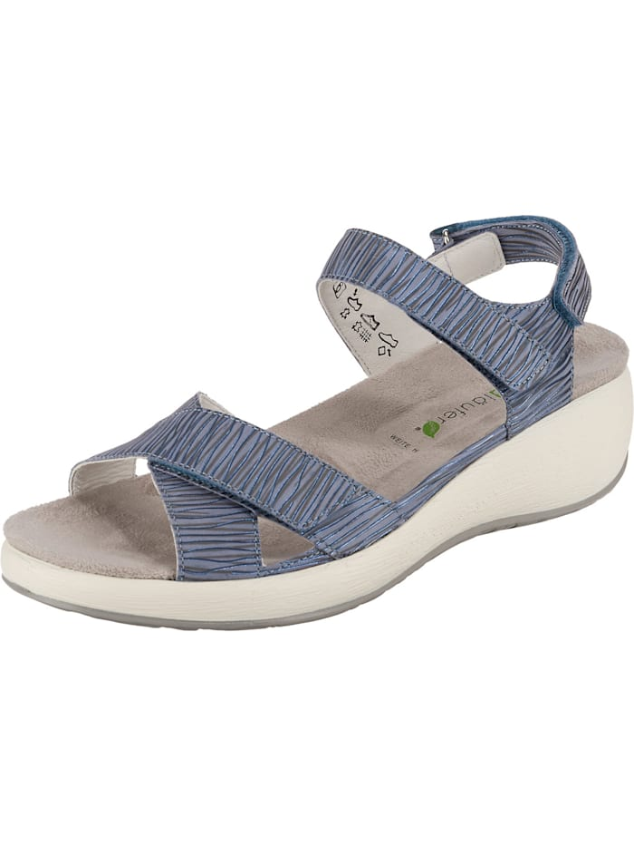 Waldläufer H-tanja Komfort-Sandalen, blau