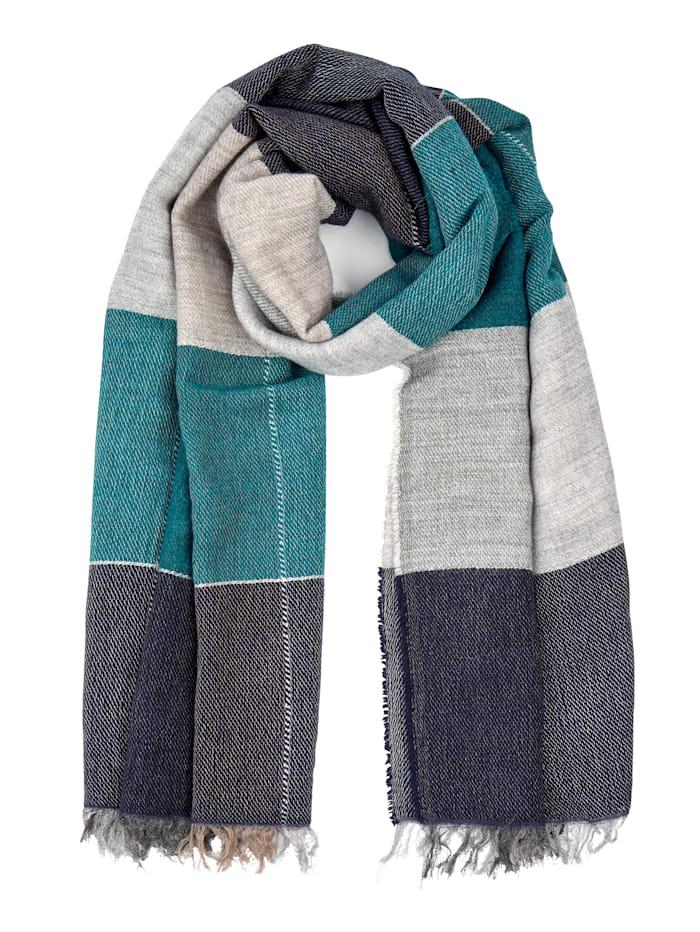 Alba Moda Schal aus weicher Qualität, Marineblau