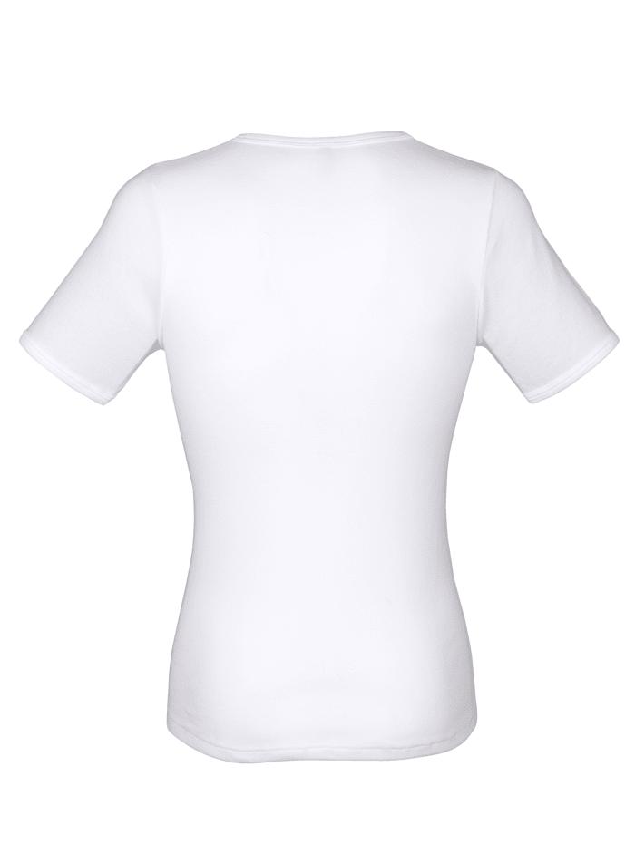 Unterhemden mit Halbarm 3er Pack