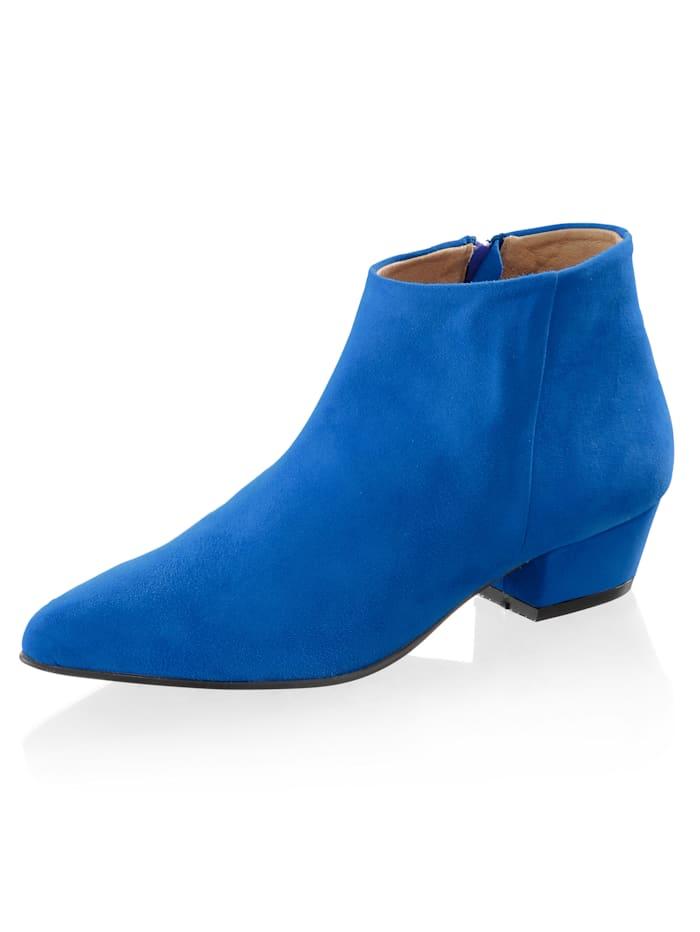 Alba Moda Stiefelette in aufregender Farbgebung, Royalblau