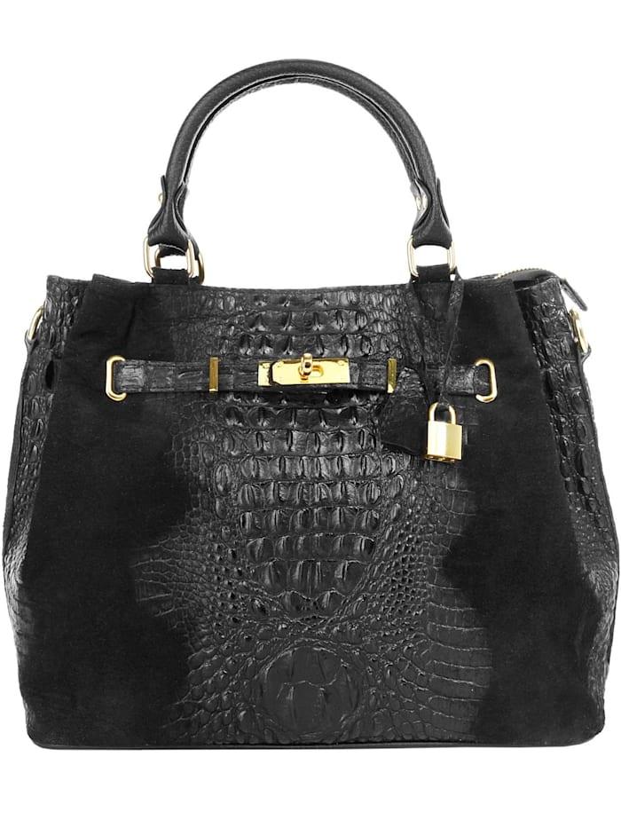 Cluty Handtasche, schwarz