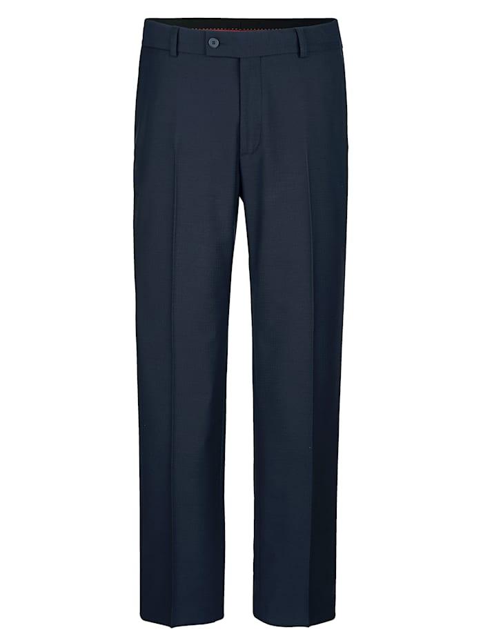 Roger Kent Dressbukse fra kolleksjon med matchende plagg, Mørkeblå