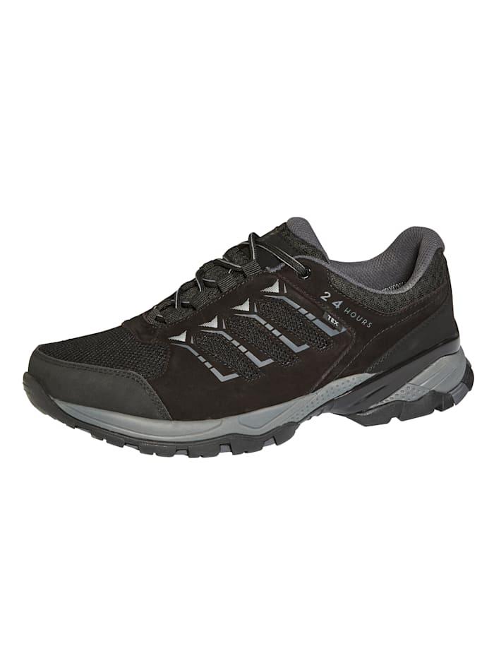 24 Hours Chaussures de trekking à membrane climatisante, Noir