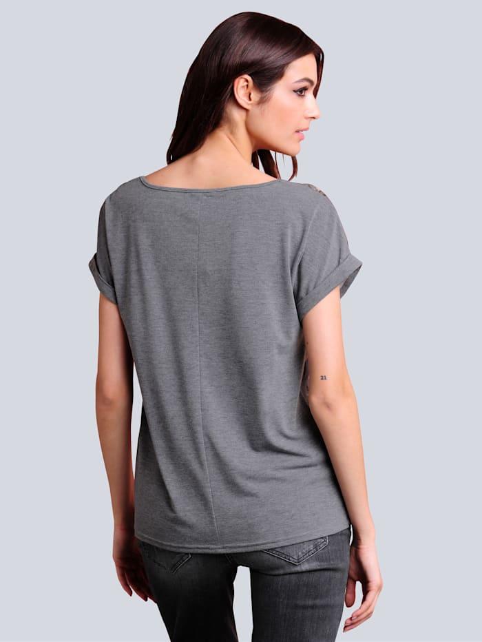 Shirt mit ausdrucksstarkem italienischem Druck