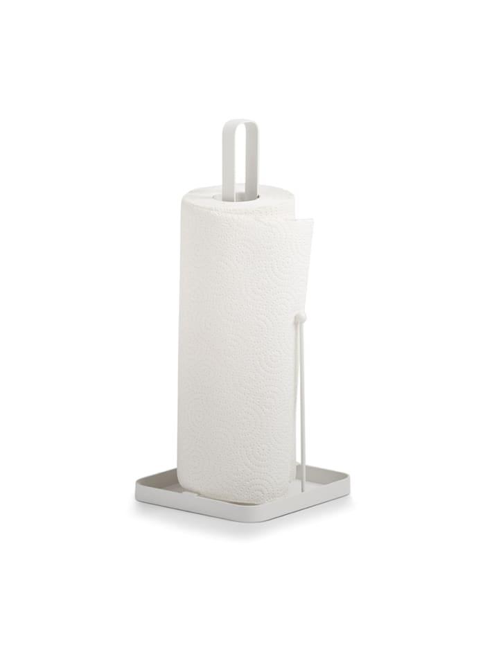Neuetischkultur Küchenrollenhalter Metall, Weiß