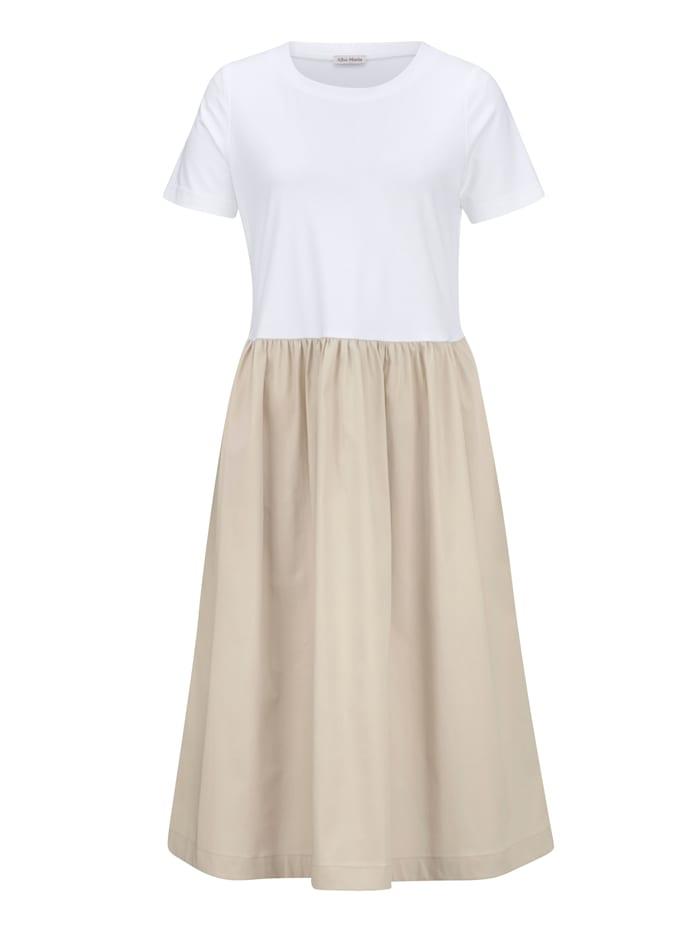 Kleid im trageangenehmen Materialmix