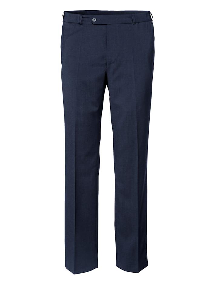 BABISTA Wollen broek met 7 cm meer bandwijdte, Marine