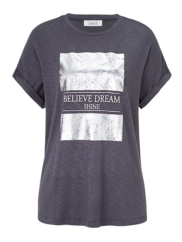 CONLEYS PURPLE T-Shirt, Dunkelgrau