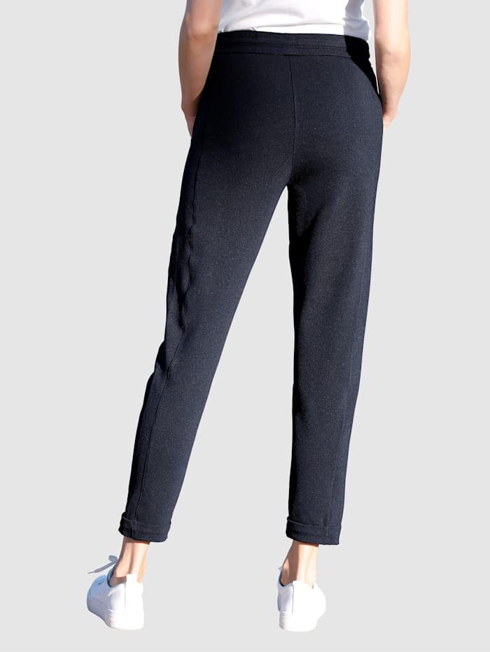 Kuminauhavyötäröiset housut