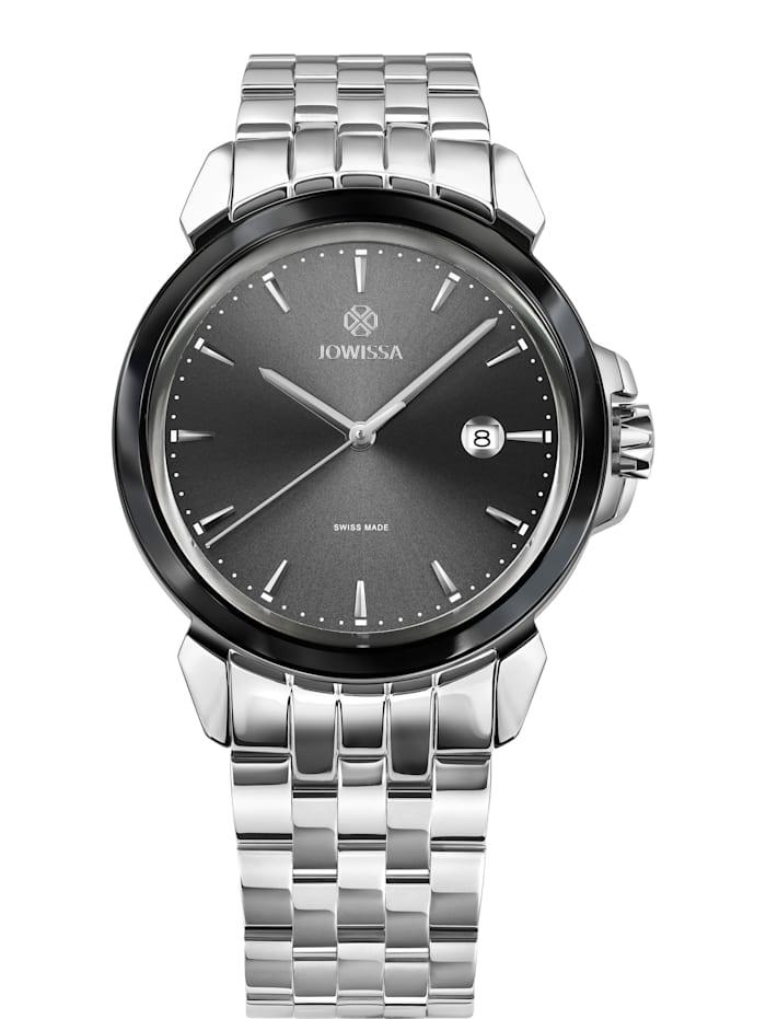 Jowissa Quarzuhr LeWy 3 Swiss Men's Watch, stahl