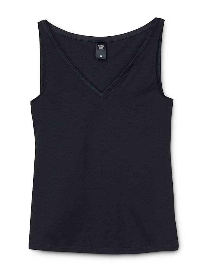 Calida Tank-Top Ökotex zertifiziert, black