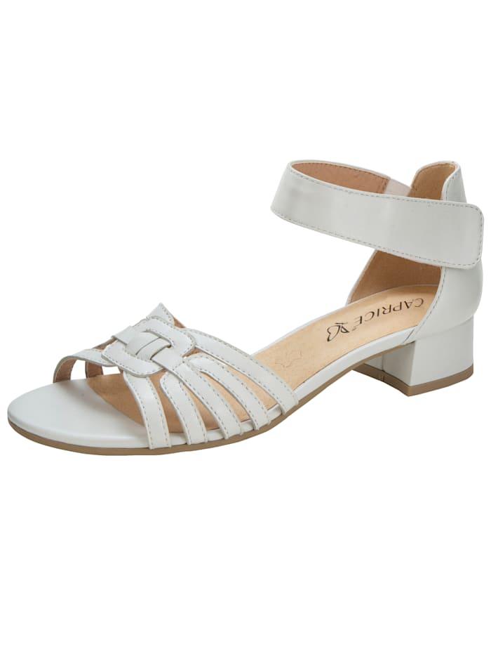 Caprice Sandaaltje met aantrekkelijke riempjes, Wit