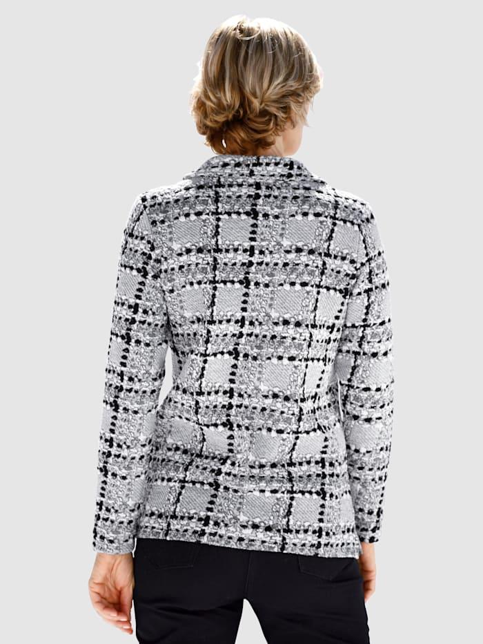 Sweatshirt i jacquard