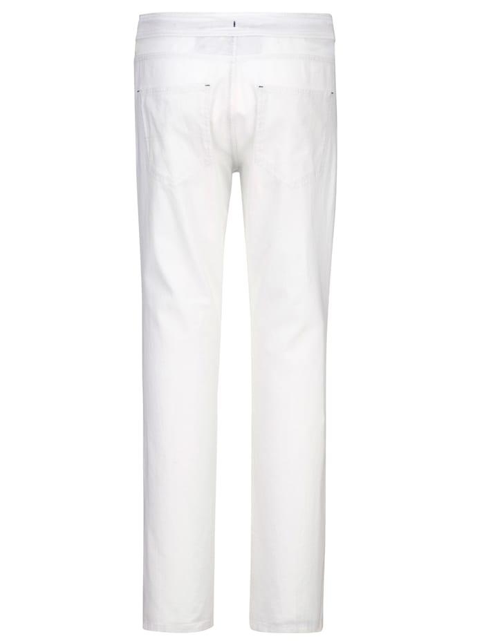 Pantalon dans une matière estivale
