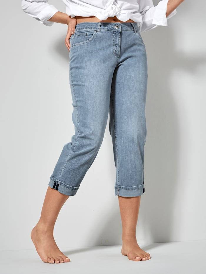 Dollywood Straight Cut Jeans Amy, Light blue