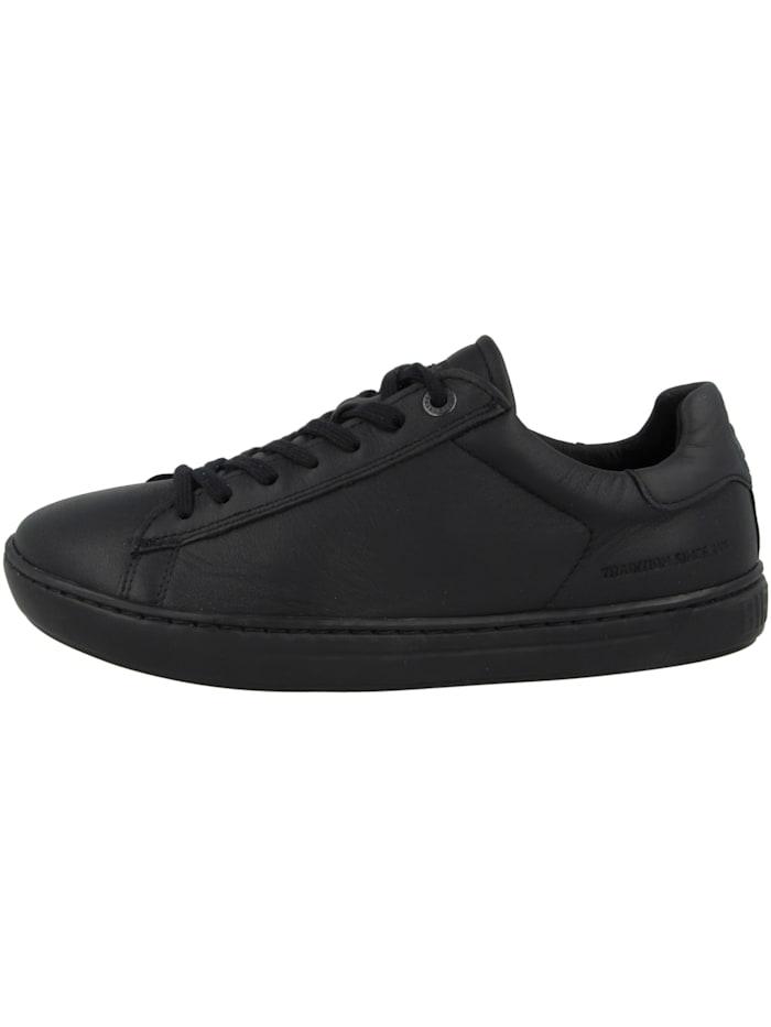 Birkenstock Sneaker low Levin Naturleder Normal, schwarz