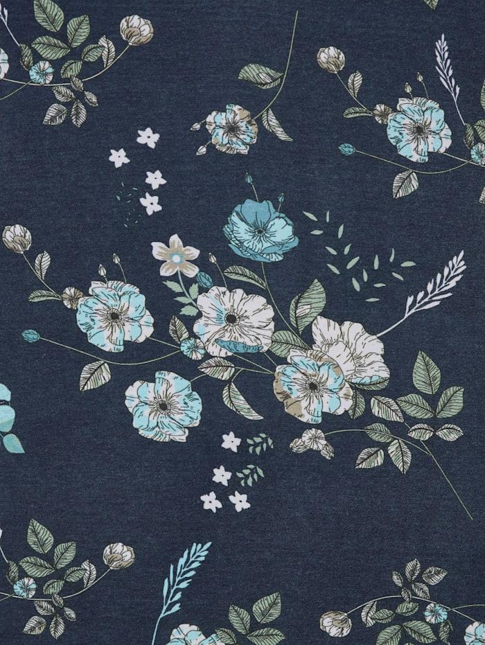 Tunikashirt mit floralem Muster