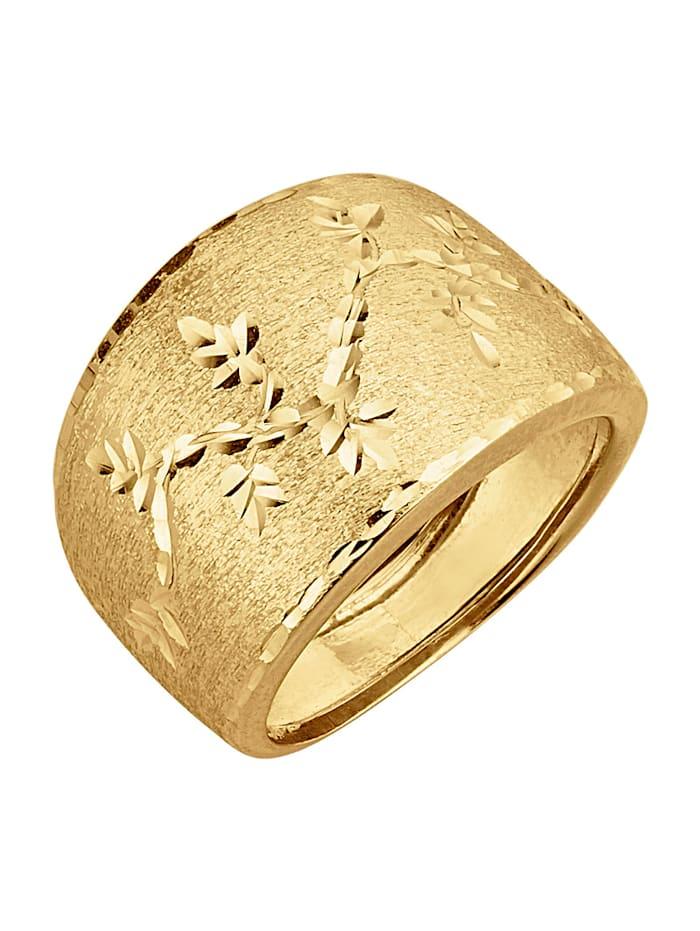 Naisten kultasormus, Keltakullanvärinen