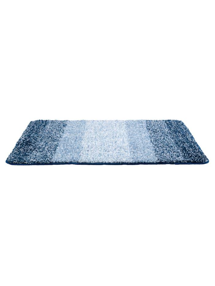 Badteppich Luso Blau, 60 x 90 cm