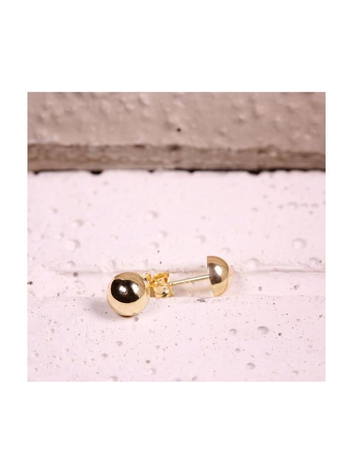 CHRIST Gold Damen-Ohrstecker 585er Gelbgold Gold