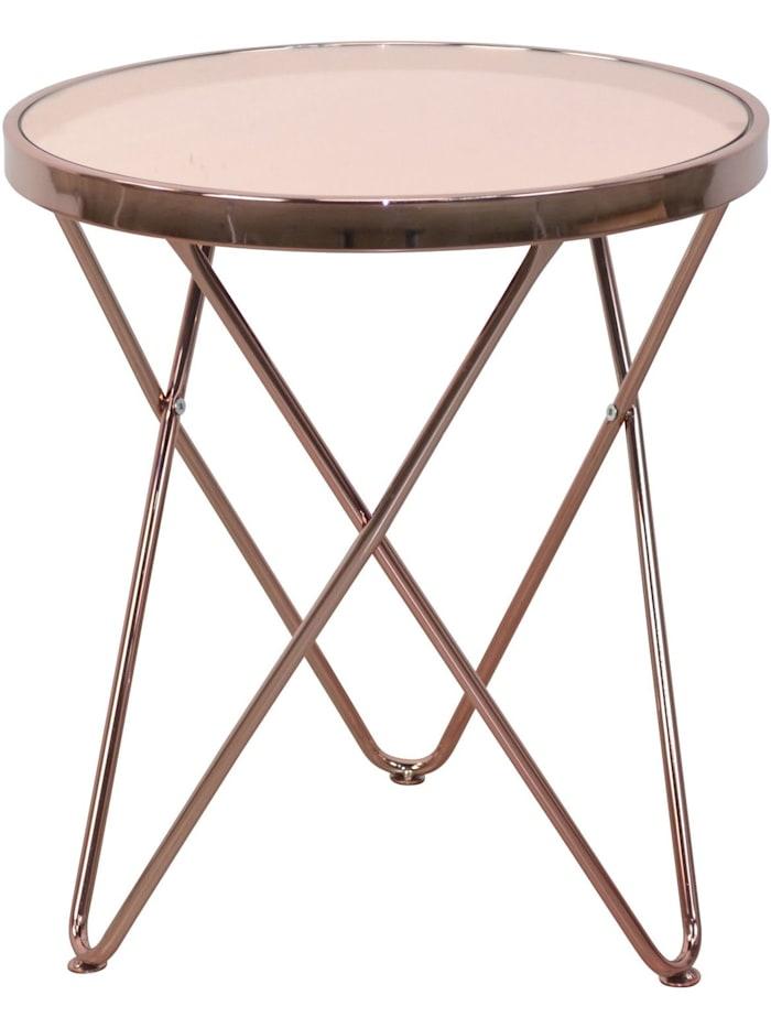 Möbel-Direkt-Online Beistelltisch Stefanie, rosegold