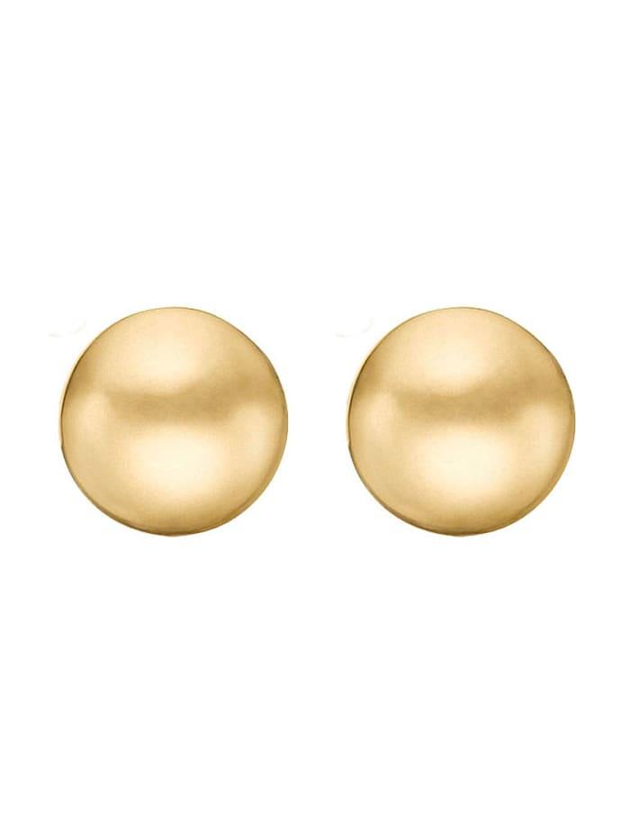 CHRIST GOLD CHRIST Gold Damen-Ohrstecker 585er Gelbgold Gold, gold