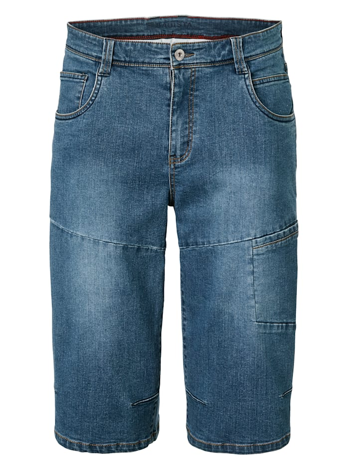 BABISTA Bermuda en jean de longueur 3/4, Blue stone