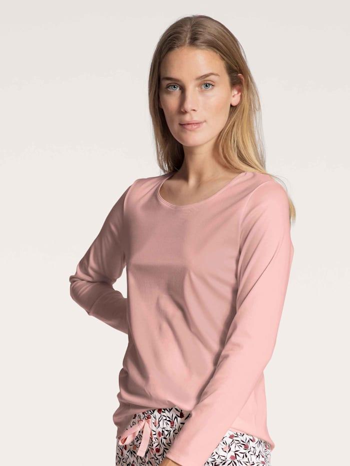 Calida Langarm-Shirt STANDARD 100 by OEKO-TEX zertifiziert, rose bud
