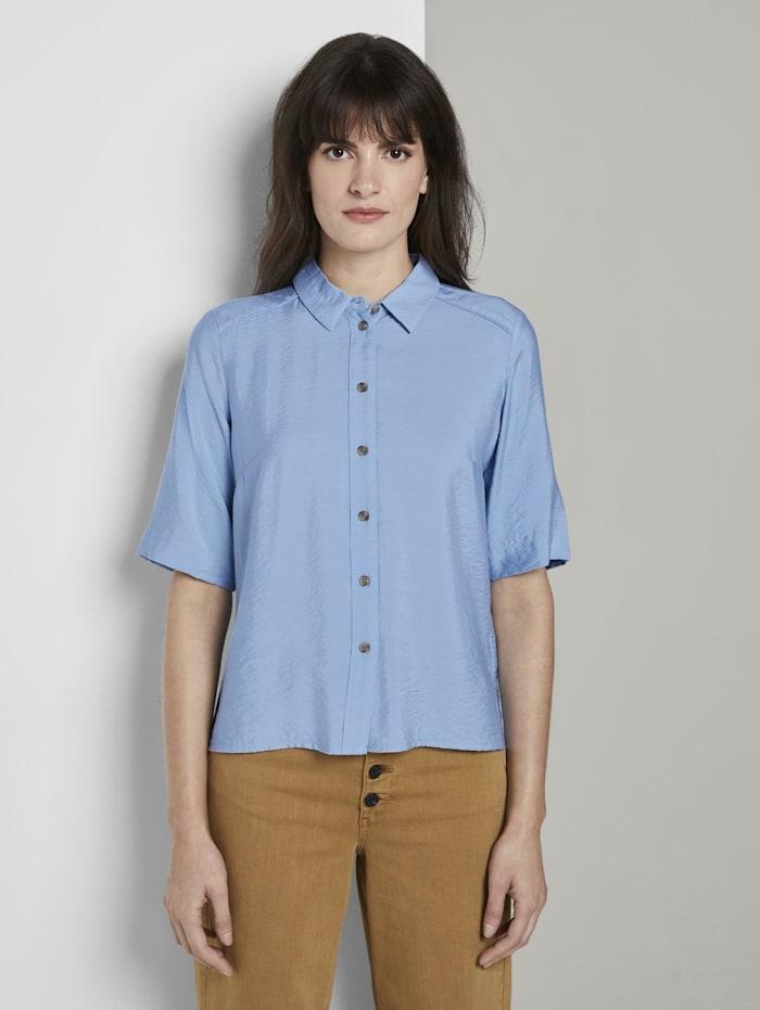 Tom Tailor mine to five Schlichtes Blusenshirt, Soft Charming Blue