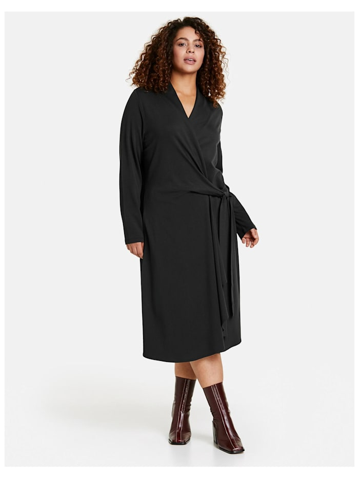 Kleid mit Wickel-Optik