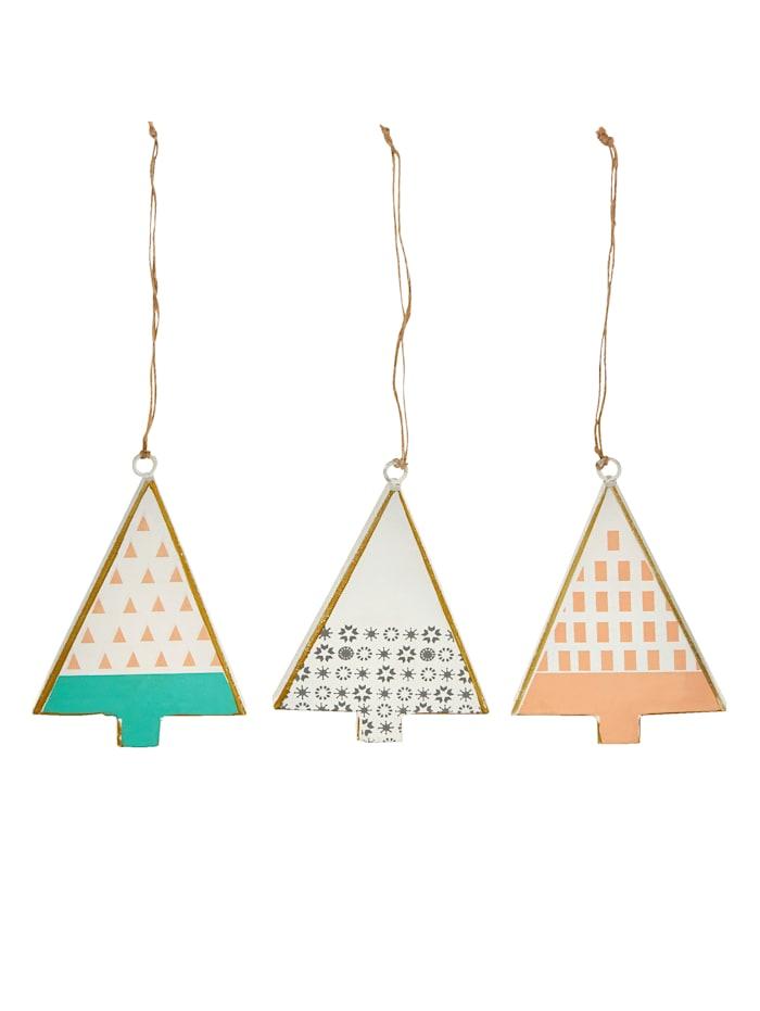 IMPRESSIONEN living Lot de 3 suspensions décoratives, multicolore