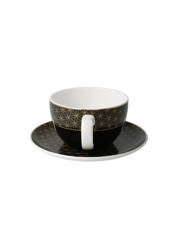 Goebel Tee-/ Cappuccinotasse Yin Yang Schwarz