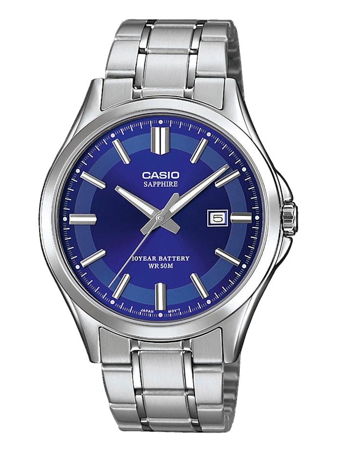 Casio Herrenuhr MTS-100D-2AVEF, Silberfarben