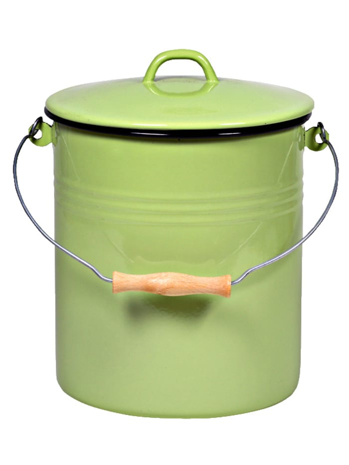 Krüger Søppelbøtte, grønn