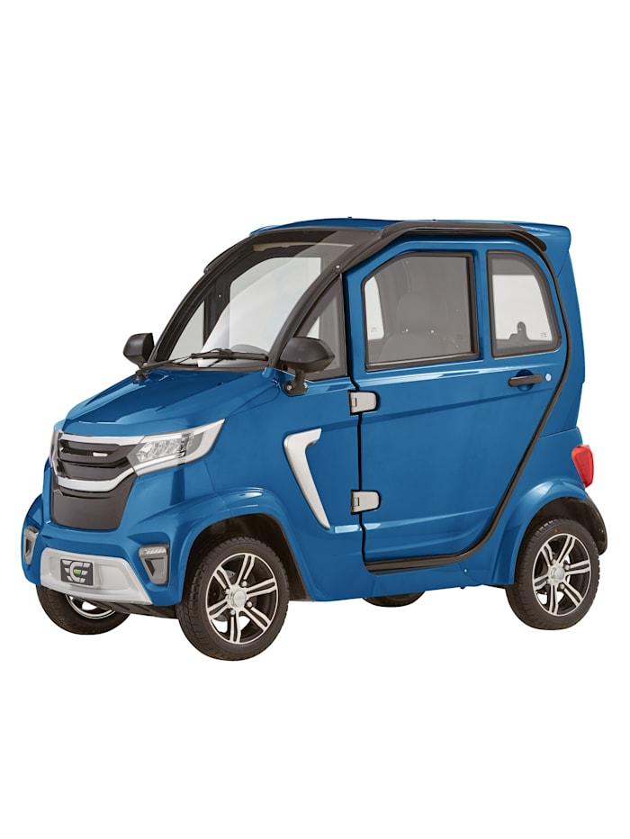 ECABINO 4-Rad eLazzy Premium 45 km/h Mit Vor-Ort-Einweisung, Blau