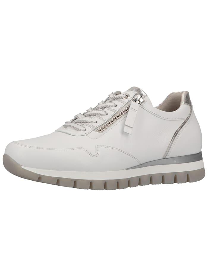 Gabor Gabor Sneaker, Weiß/Silber