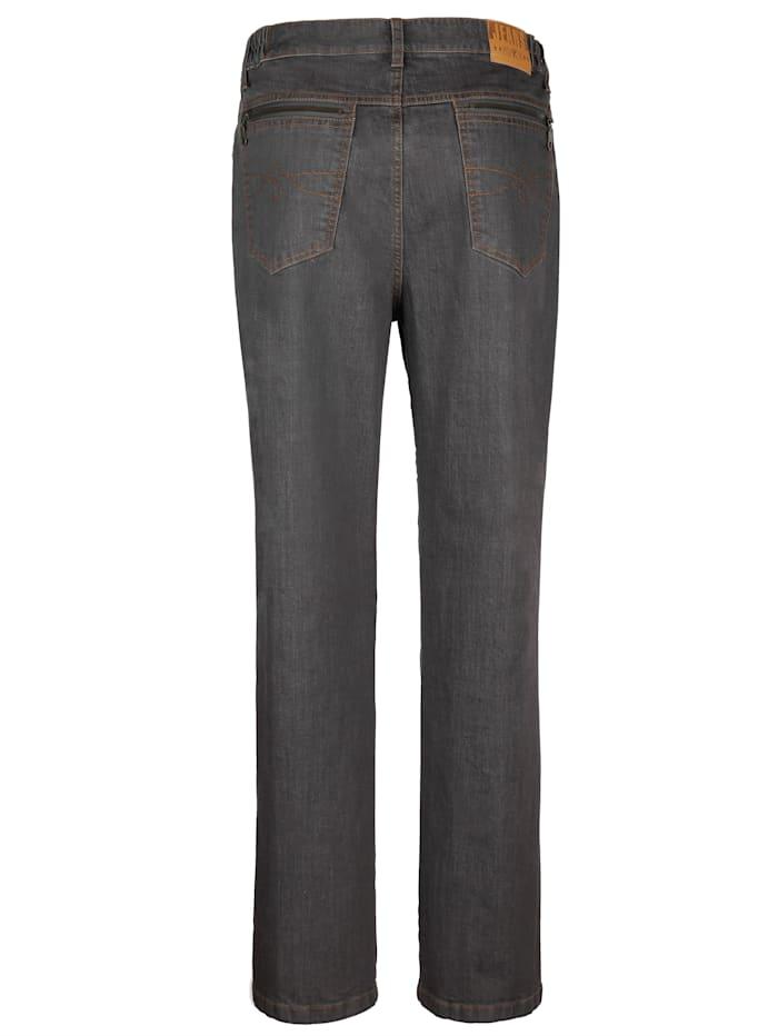 Jean taille extensible côtés