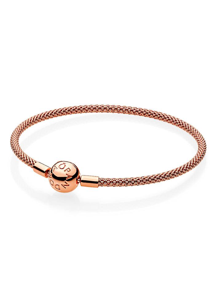 Pandora Armband - Mesh - 586543-19, Rosé